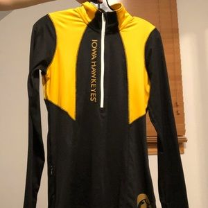 Iowa Hawkeyes 1/4 Zip Pullover